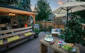 wood property paradise restored landscaping
