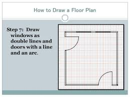 draw a floor plan drawing a floor plan