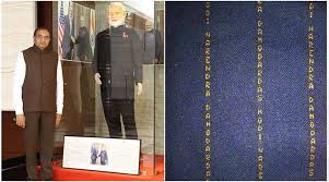 modi dress what else apart from modi suit is in the most expensive clothing