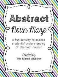 concrete nouns u0026 abstract nouns grammar pinterest abstract nouns