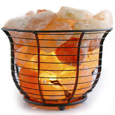 himalayan glow ionic crystal salt basket l 12 reasons to keep a himalayan salt l in every room of the house