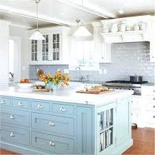 white kitchen island with granite top white kitchen islands this lovely kitchen has a sky blue island