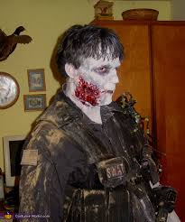 Swat Halloween Costume Swat Zombie Halloween Costume Photo 2 2
