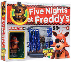 amazon com mcfarlane five nights at freddys pirate cove