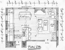 ina garten barn floor plan this floorplan minimized the kitchen component and integrated the