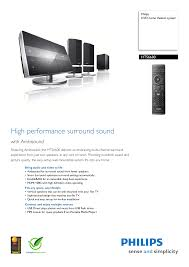 download free pdf for philips hts6600 home theater manual