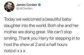the late late show with corden home