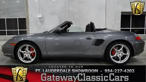 2004 porsche boxster s gateway classic cars of fort lauderdale