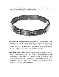 healthy magnetic bracelet images Advantages of titanium magnetic bracelets jpg