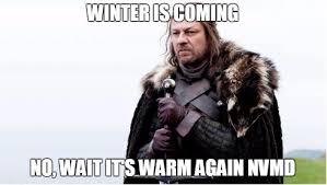 Winter Is Coming Meme - greenpeace spoofs season 6 in winter is not coming