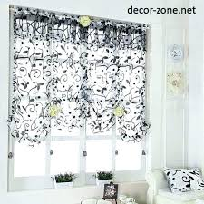 Kitchen Window Curtain Ideas Curtains For Small Windows Proportionfit Info