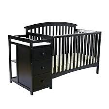 black crib with changing table baby cribs with changing tables thelt co