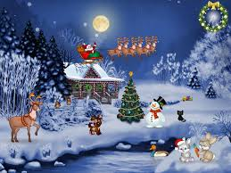 animated christmas wallpapers free group 52