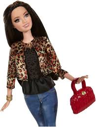 Barbie Style Doll Reviews And by Barbie Style Raquelle Doll Leopard Print Jacket Target