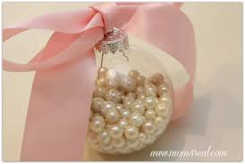 pearls in a glass ornament 4 real