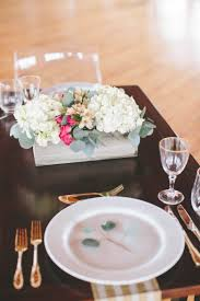 hydrangea wedding centerpieces how to a modern diy hydrangea centerpiece that anyone can make