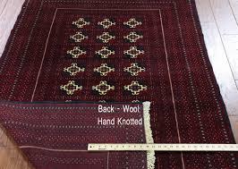 Bokhara Oriental Rugs Persian Bokhara Oriental Rug 4 X 6 W1816