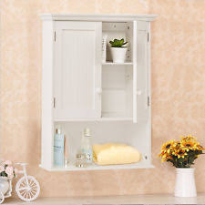 Bathroom Wall Mounted Cabinets by Bathroom Cabinet Home U0026 Garden Ebay