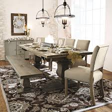 Wood Dining Room by Home Decorators Collection Aldridge Antique Grey Wood Dining Bench