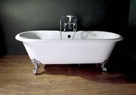 owen 61 inch 66 inch 68 inch dual clawfoot cast iron bathtub