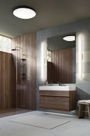 bathroom sconce lighting ideas brown finish maple wood storage van
