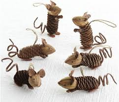 42 best mice ornaments images on crafts