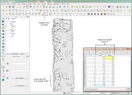 ator archaeological drawing symbols in qgis