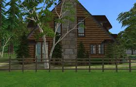 Craftsman Cabin by Mod The Sims Update Craftsman Cabin Ts2 Version Of