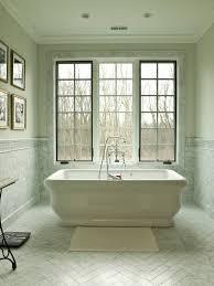 Bathroom Neutral Colors - tile looks like bathroom traditional with herringbone pattern
