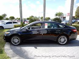 2017 new toyota avalon limited at royal palm toyota serving