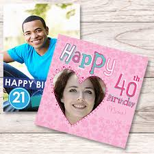 personalised cards add your own text photo delights