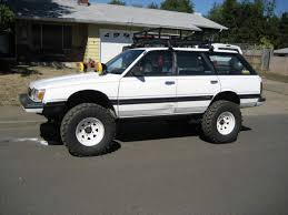 subaru outback lifted off road 1992 subaru loyale information and photos zombiedrive