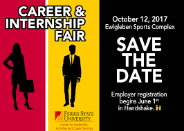 Ou Career Center Attend A Career And Internship Fair Ferris State University