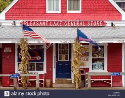 pleasant lake general store located along the cape cod bike trail