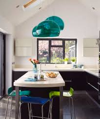 blue and green kitchen 19 amazing kitchen decorating ideas real simple