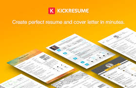 Best Resume Builder In Canada by Kickresume Perfect Resume And Cover Letter Are Just A Click Away
