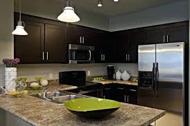 Dark Espresso Kitchen Cabinets by Espresso Kitchen Cabinets With Black Appliances Espresso Kitchen