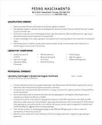 Surgical Tech Resume Examples by Lab Technician Resume Template 7 Free Word Pdf Document