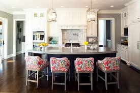 counter stools for kitchen island coastal counter stools kitchen traditional with floral bar stools