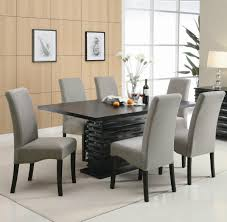 contemporary modern furniture dining table impressive round glass