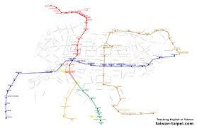 Taipei Subway Map by Taipei Map Taiwan Taipei Com