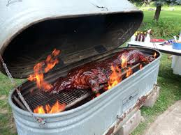 large image for bbq smokers commercial a backyard smoker made from