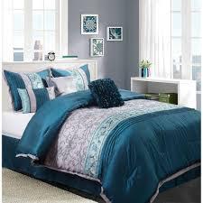 Bed Set Walmart Blue Comforter Sets Smoon Co