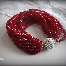 red crystal bracelet images Red crystal bracelet chic selections shop jpg