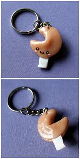fortune cookie keychain fortune cookie keychain by hezachan on deviantart