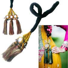 paranda hair accessory indian punjabi multicolor paranda parandi hair accessory