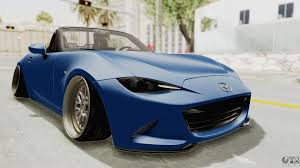 slammed aston martin mazda mx 5 slammed for gta san andreas
