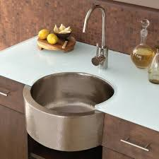 evier rond cuisine evier cuisine rond stunning la cuisine quipe avec vier en cuivre