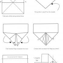 How Do You Make A Paper Boomerang - origami how to make a easy paper boomerang that es back to you