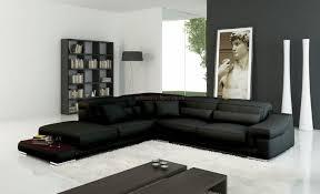 Black Leather Corner Sofa Large Black Leather Corner Sofa Buildsimplehome